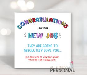New Job Cards